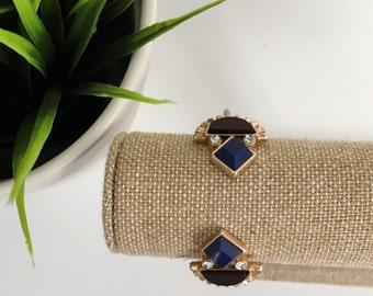 Statement Cuff Bracelet, Jeweled Cuff Bracelet