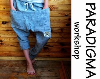 Pants, afghani, wide trousers