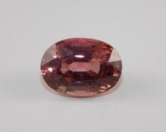 Stunning large natural 5.55 ct Orange pink tourmaline vvs