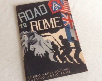 World War II Road to Rome, Fifth Army Booklet