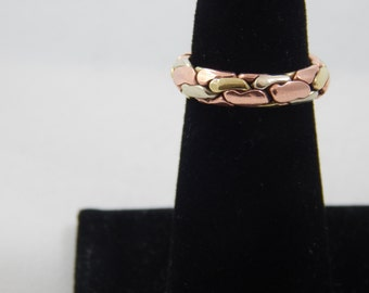 Vintage Copper and Brass Ring Size 6 1/2