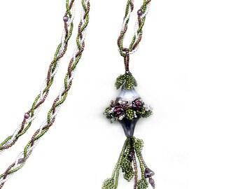 Beading Kit - Beaded Necklace - Wisteria Necklace