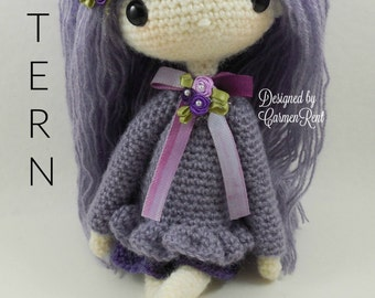 "Lilly 13""- Amigurumi Doll Crochet Pattern PDF"