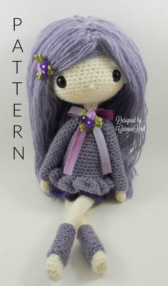 Lilly 13 Amigurumi Doll Crochet Pattern PDF
