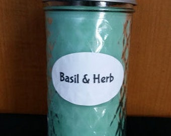 Basil & Herb 12 oz. Candle