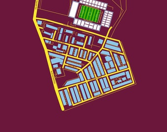 Burnley FC - Turf Moor Art Print