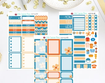 HCP132 Dogwood and Tangerine Functional and Decorative Weekly Set (3 Pages)