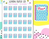 M032 Planners (Daisy Edition) // Kawaii Planner Stickers