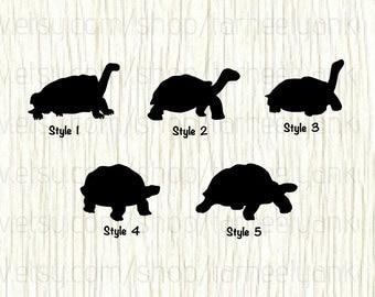 Tortoise Car Decal, Tortoise Decal, Turtle Car Decal, Turtle Decal, Reptile Car Decal, Reptile Decal, Amnoite Decal