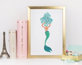 Mermaid Digital Print