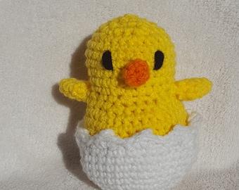 crochet chick toy etsy. Black Bedroom Furniture Sets. Home Design Ideas