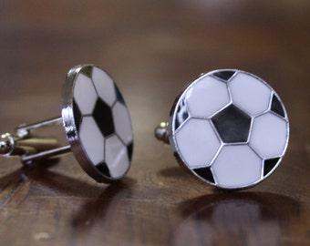 Soccer Cuffs, football Cuff links, Gemelos de Futbol