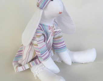 Pretty rabbit soft toy
