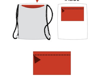 Zipper Bag Inside ADD ON - hannisch