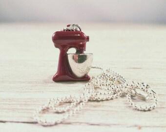 Kitchen Aide Mixer Charm Necklace