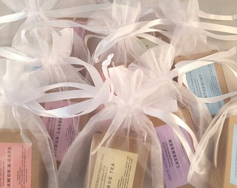 Unique Shower Gift - Bridal Shower Favors- Wedding Favors - Unique Wedding Shower - Organic Soap Favors