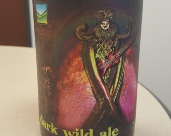 Dantalion - Black Raspberry and Vanilla - Beer Bottle Candle