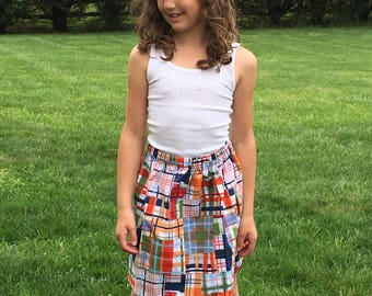 Skirt for girl  toddler women mommy and me matching boy girl children match brother sister outfits