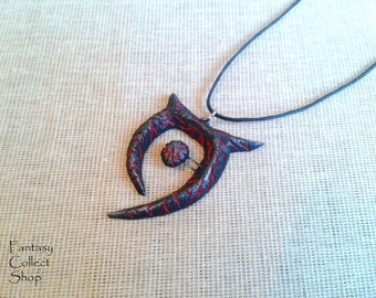 Amulet of Oblivion (The Elder Scrolls) Skyrim cosplay Oblivion cosplay Morrowind cosplay amulet necklace Oblivion pendant