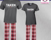 Couples Pajamas Taken Sin...