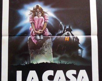 """Original poster film """"Mary"""". Movie poster for Superstition. Horror. 1982 Movie poster. Cult films. No reproduction."""