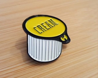 C.R.E.A.M.    Pin yellow