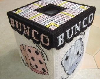 Bunco Tissue Topper