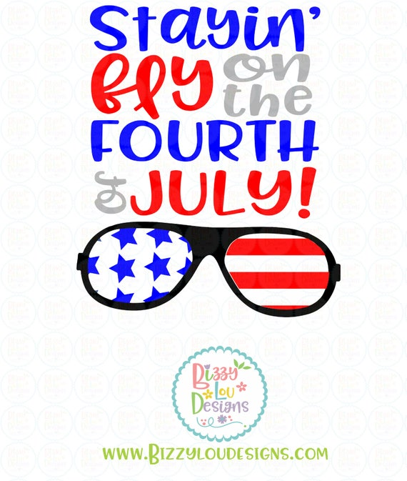 Fourth Of July SVG DXF EPS Png America Cut File 4th Of July