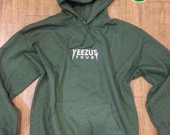 Yeezus Tour Hoodie / 10 Color Options/ Yeezy