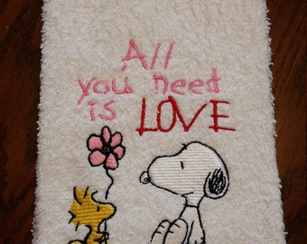 All you need is Love-Hand Towel