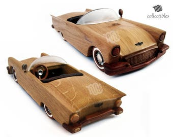 Ford Thunderbird 1957 - wood collectible replica