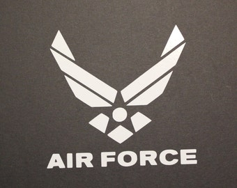 Airforce Decal, Military, Flyboy, USA,