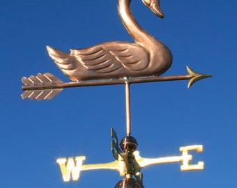 Copper Swan Weathervane - BH-WS-163