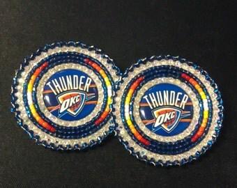 Oklahoma City Native Beaded Earrings