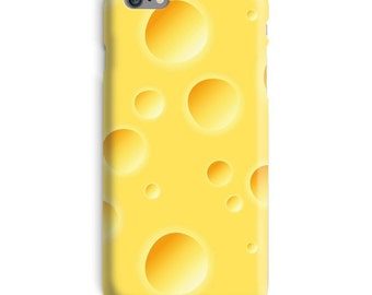 Cheese iPhone Case, Yellow iphone case, Funny iphone 6 case, Cheese iphone 6 case, Realistic iphone 6s case, Hilarious iphone case