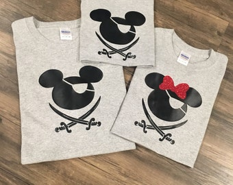 Disney Vacation, Disney Pirate, Disney shirts