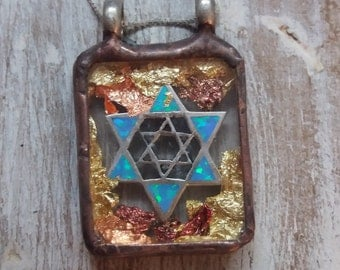 Magen David Positive protection energy.Kabbalah amulet