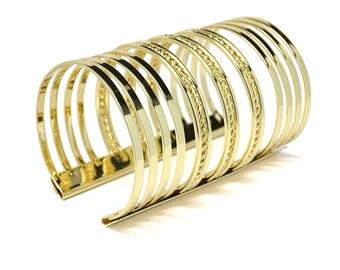 Bangle Bracelet, Statement Bracelet, Wide Bracelet, Gift for her, Cuff Bracelet, Boho Bracelet, Big Bracelet, Bohemian Bracelet, Gold Cuff
