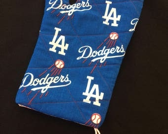 Los Angeles Dodgers Oven Mitt, Dodgers Fabric, Dodgers Home Decor, Baseball Oven Mitt, Baseball Fabric, Gift for Him, Grilling Tools
