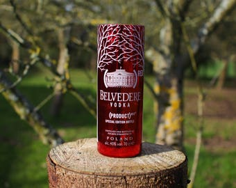 Belvedere Unfiltered Vodka Tumbler Glass - Upcycled Vodka Bottle