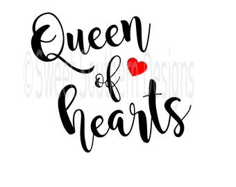 Queen of hearts | Etsy
