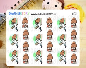 Janine RELAX with COFFEE Planner Stickers (G1731)