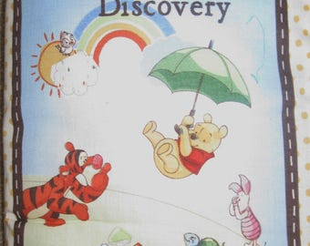 Pooh fabric book