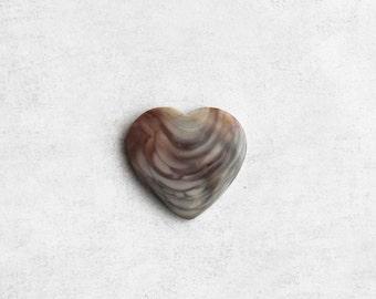 Royal Imperial Jasper Heart Cabochon - Natural Stone Cab