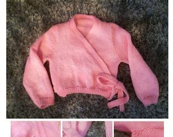Knitting Pattern Childs Ballet Cardigan : Ballet cardigan Etsy UK