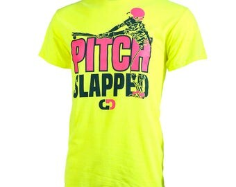 Pitch Slapped Short Sleeve Softball T-shirt, Softball Shirts, Softball Gift - Free Shipping!