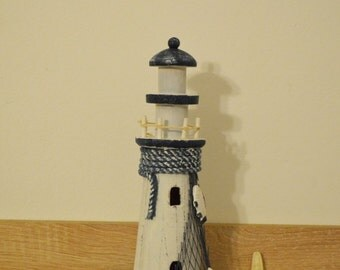 Wooden Lighthouse / Nautical decoration