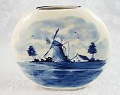 Traditional Delftware Vas...