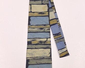 Vintage ISSEY MIYAKE Blue Necktie