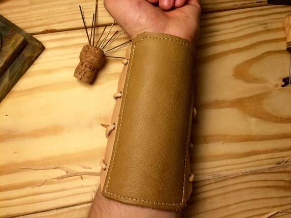 Leather Archery Armguard